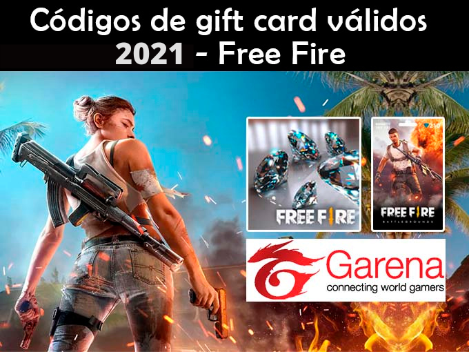 CODIGOS VALIDOS 2021 FREE FIRE