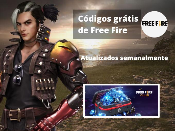 Códigos grátis de Free Fire