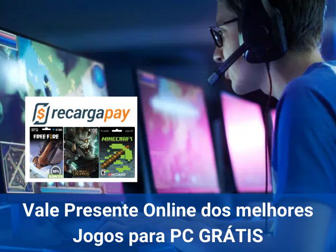 Como obter Vale Presente online para jogos PC