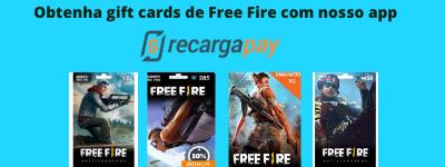 Obtenha Vales-presente de Free Fire com nosso app (1)