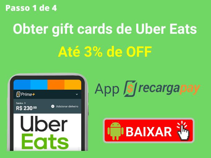 Passo 1 de 4 para Obter gift cards de Uber Eats (2)