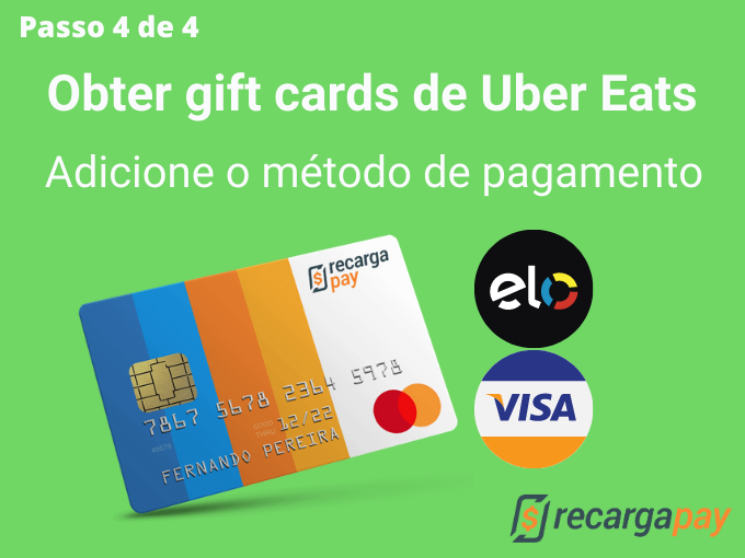 Passo 4 de 4 para Obter gift cards de Uber Eats (1)