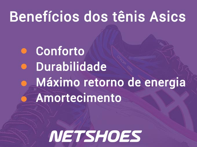 Netshoes tênis Asics