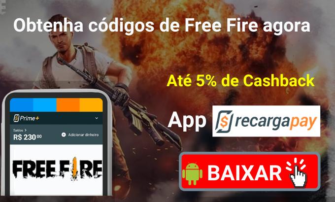 Obtenha códigos de Free Fire agora